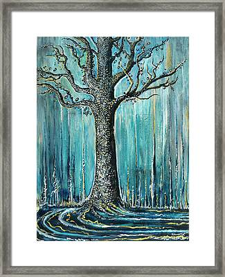 Hungry Winter Framed Print