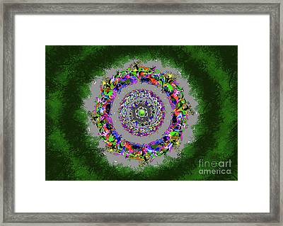 Hunted Without Tears In Their Eyes Framed Print