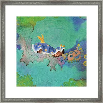 Hunter As A Nudibranch Framed Print