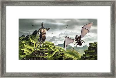 Hunter - Hound Framed Print