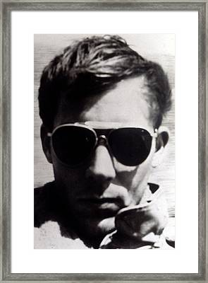 Hunter S. Thompson, 1960s Framed Print by Everett