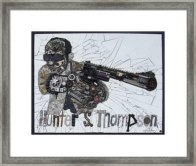 Hunter S. Thompson Framed Print