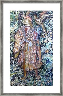 Hunter Framed Print by Tanya Ilyakhova