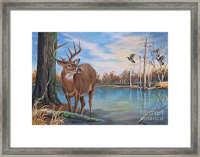 Hunters Dream Sold Framed Print