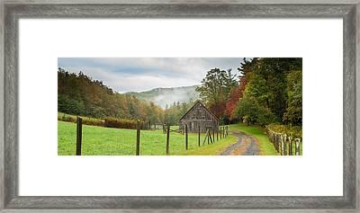 Hunting Cabin-3 Framed Print