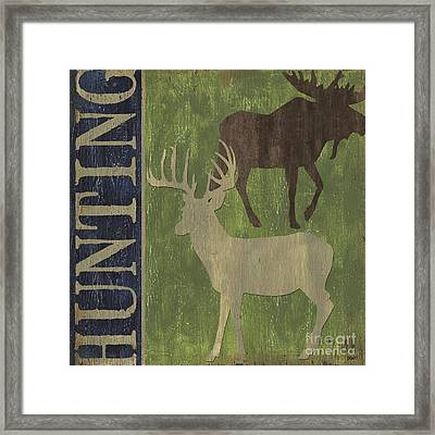 Hunting Framed Print by Debbie DeWitt
