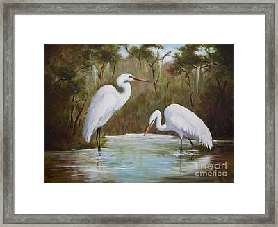 Hunting For Prey Framed Print