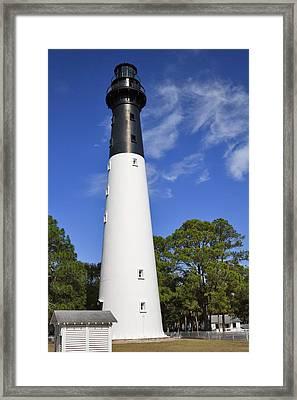 Hunting Island Lighthouse South Carolina Framed Print