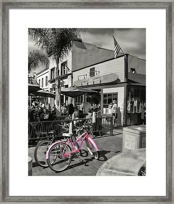 Huntington Beach Longboard Restaurant And Pub Framed Print