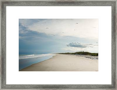 Huntington Beach State Park II Framed Print by Ivo Kerssemakers