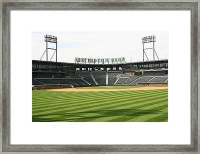 Huntington Park Baseball Field Framed Print