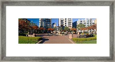 Huntington Park, Nob Hill, San Framed Print by Panoramic Images
