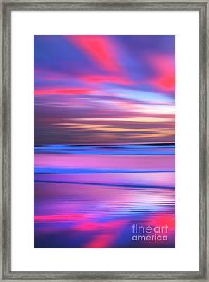 Huntington Pastels - 1 Of 3 Framed Print by Sean Davey