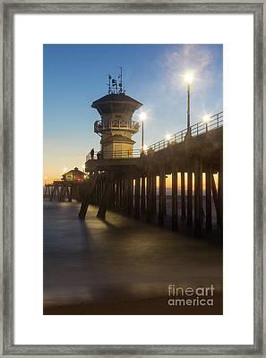 Huntington Peir  Framed Print