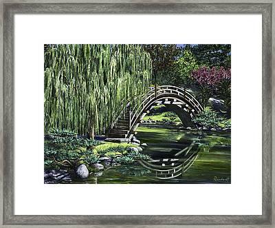 Huntington Tea Framed Print