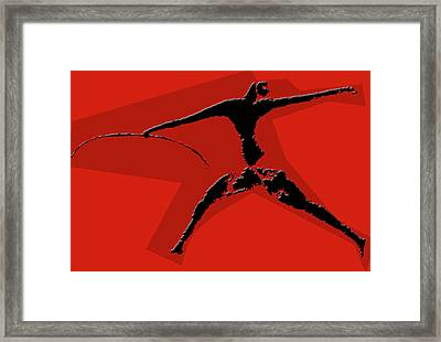 Huntsman Of Lascaux Framed Print