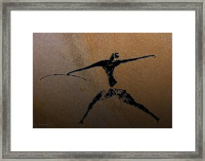 Huntsman Of Lascaux V2 Framed Print