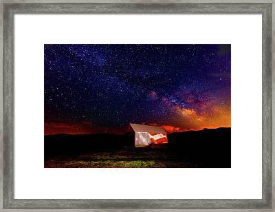 Huntsville Barn Framed Print