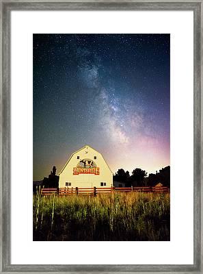 Huntsville Cow Barn Framed Print