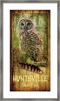 Huntsville State Park Framed Print by Jim Sanders