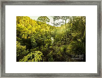 Huon Valley Framed Print