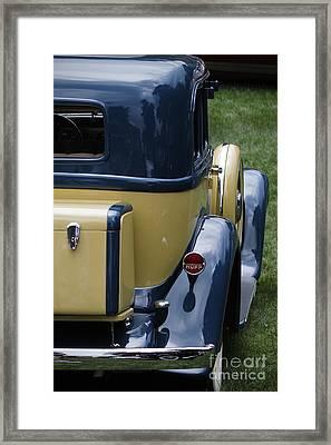 Hupmobile Framed Print