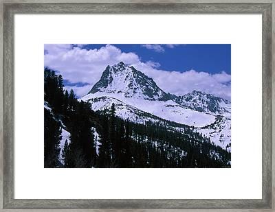 Hurd Peak - Bishop Pass Trail Framed Print