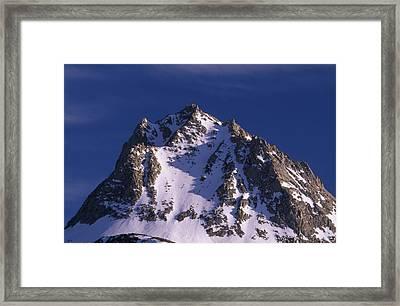 Hurd Peak  Framed Print