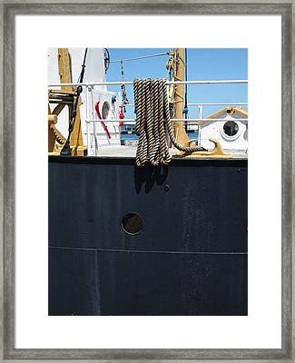 Huron 9 Framed Print by Mary Bedy