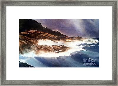 Hurricane '03' Halifax Framed Print by Don F  Bradford