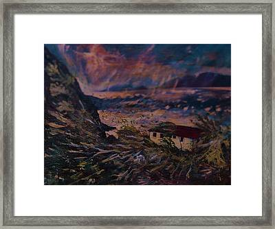 Hurricane Ballast  Framed Print by Andre Francis