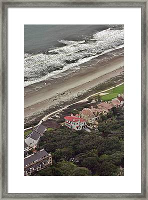 Hurricane Earl Framed Print by Duncan Pearson
