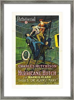Hurricane Hutch 1921 Framed Print by Mountain Dreams