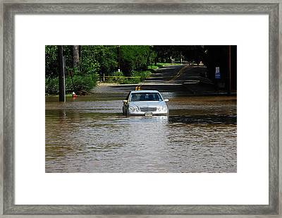 Hurricane Irene 2011 Framed Print by Dimitri Meimaris