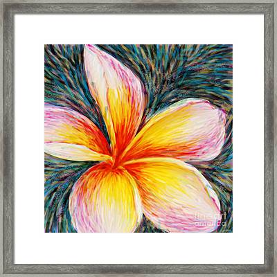 Hurt Filling Framed Print by Atiketta Sangasaeng
