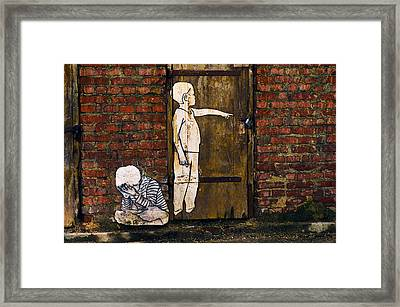 Hurt Framed Print by Tgchan
