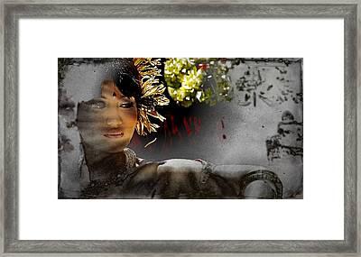 Hurtful Memories Framed Print