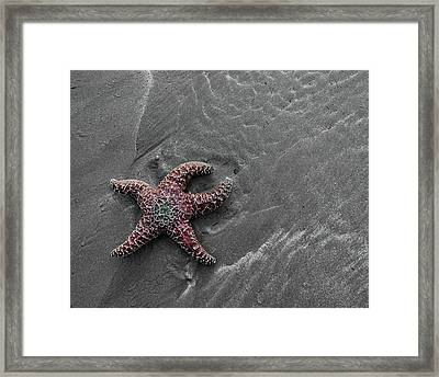 Hurts To Be Alone Framed Print