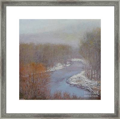 Hush On The Bigwood Framed Print by Lori McNee