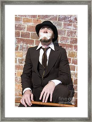 Hushing Humanity Framed Print by Jorgo Photography - Wall Art Gallery