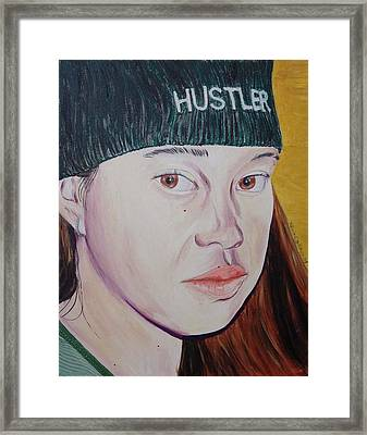 Hustler Girl Framed Print by Kevin Callahan