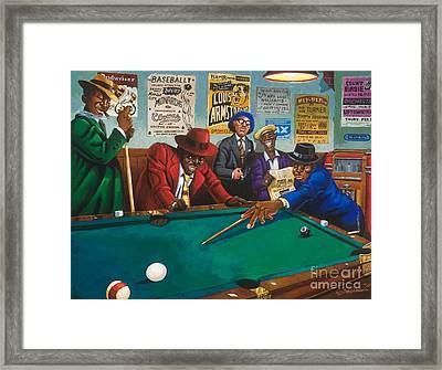 Hustlin' Framed Print by Keith Shepherd