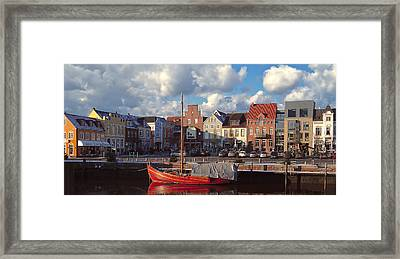 Husum Port - Northern Germany Framed Print