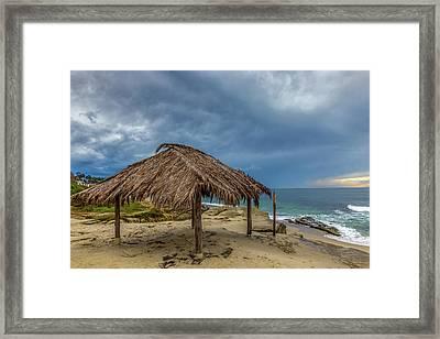 Hut Framed Print