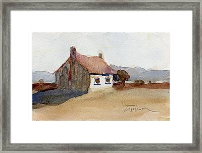 Hut Framed Print by Ron Wilson
