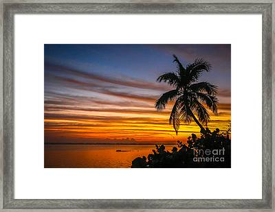 Hutchinson Island Sunrise #1 Framed Print