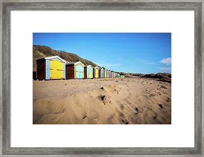 Huts Framed Print by Svetlana Sewell