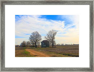 Hwy 8 Old House 2 Framed Print