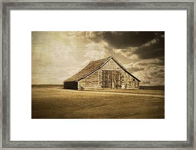 Hwy 9 Barn Framed Print