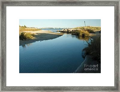 Hyannis Bay Framed Print by Frank Garciarubio